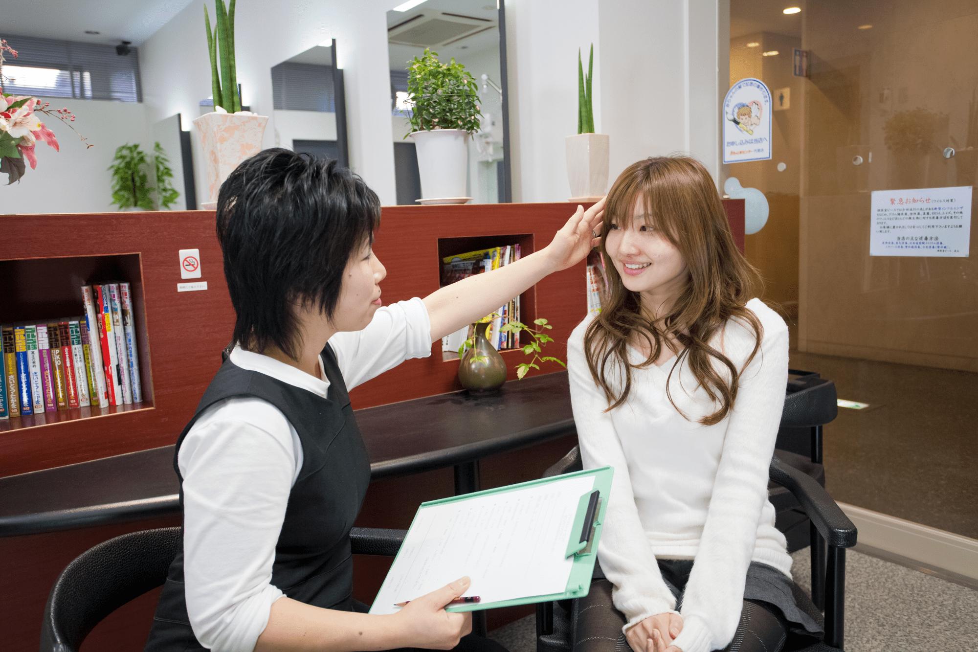 ブライダルシェービング10年以上の経験をもつ女性理容師が確かな技術で対応